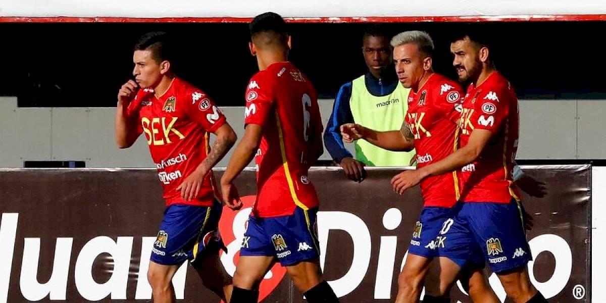 Unión Española derrotó a Audax Italiano por la ida de los cuartos de final de la Copa Chile