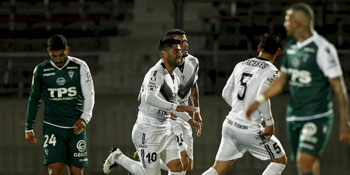 Wanderers dejó escapar la opción de quedar puntero y perdió ante Santiago Morning en Primera B