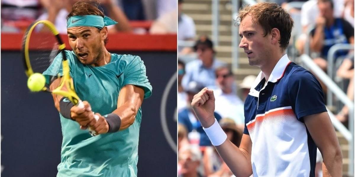 Rafael Nadalbusca su Grand Slams 19 ante Medvedev en el US Open