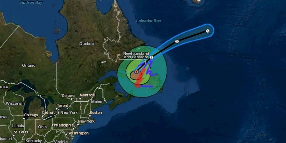 Dorian deja sin electricidad a miles en costa este de Canadá