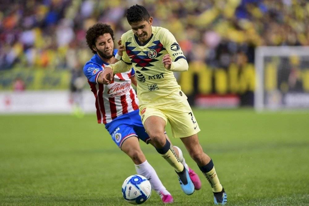 Por Chivas, el joven César Huerta fue uno de los más destacados. | MEXSPORT