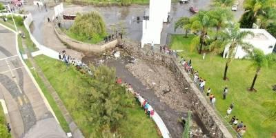 Desbordamiento de arroyo provocó la muerte de dos mujeres en Tlajomulco