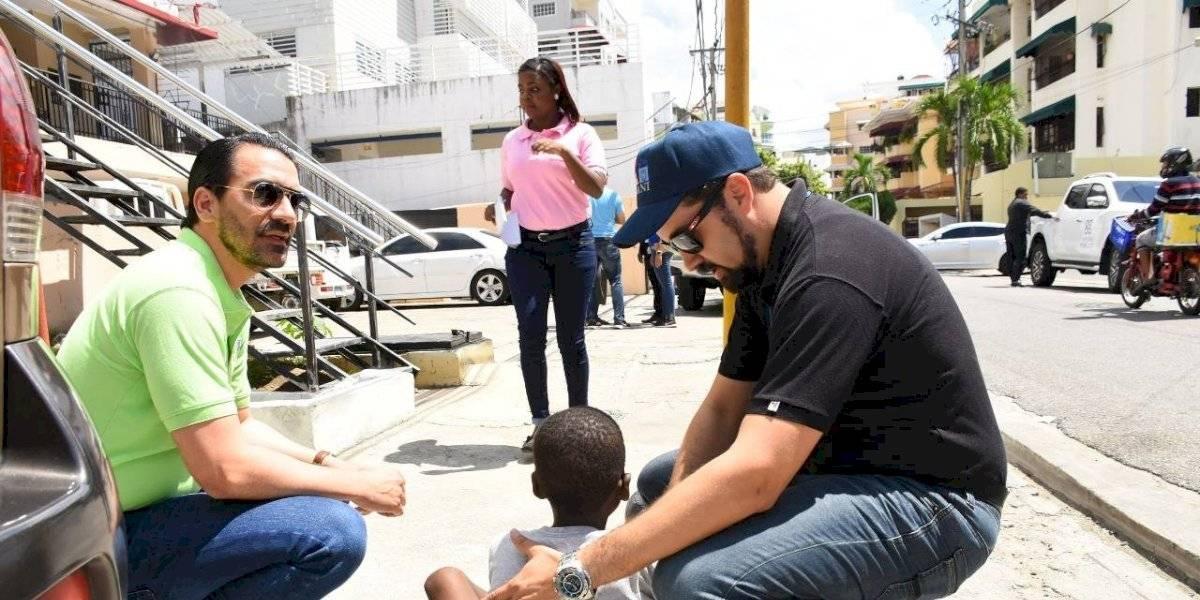 CONANI, PGR y MIP intervienen niños y niñas en situación de calle