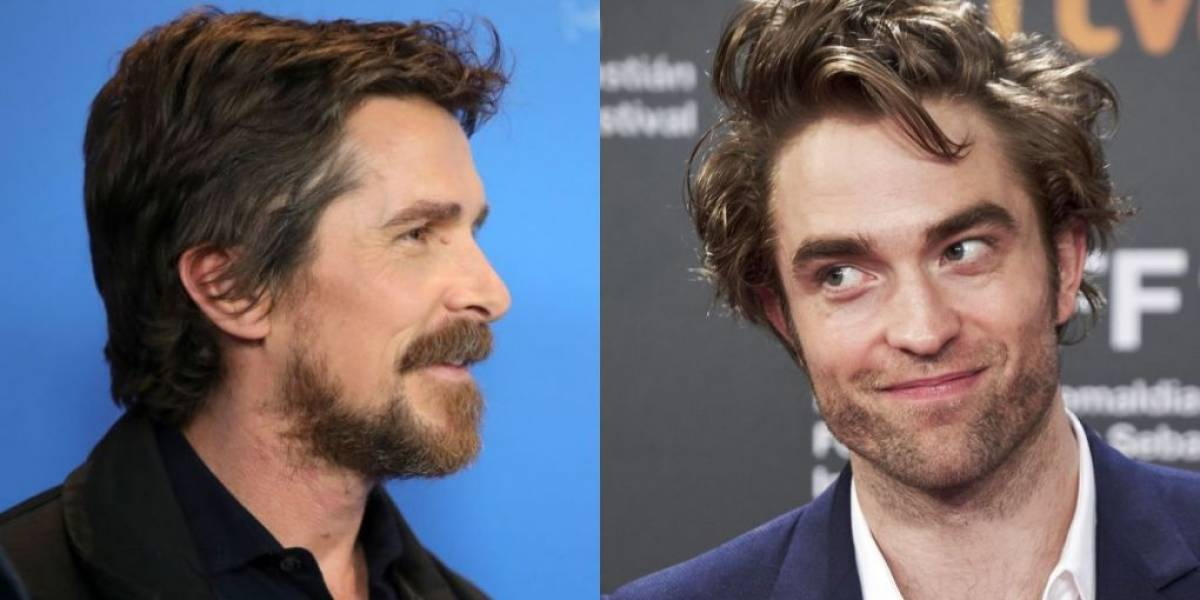 Christian Bale elogia escolha de Robert Pattinson para viver Batman