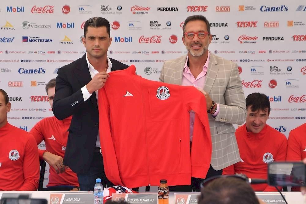 De esta forma fue presentado Gustavo Matosas con el Atlético San Luis Mexsport