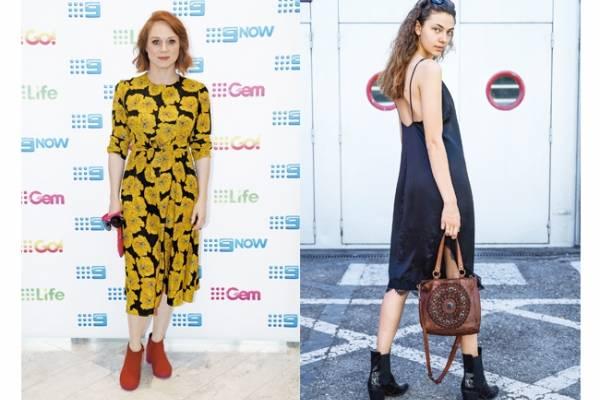 Moda 2020 Estos Son Los Vestidos Y Botines En Tendencia