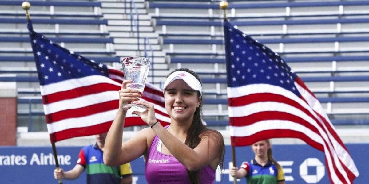 Colombiana María Camilia Osorio se consagra campeona juvenil del US Open