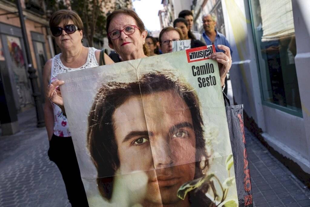 Último adiós a Camilo Sesto / AP