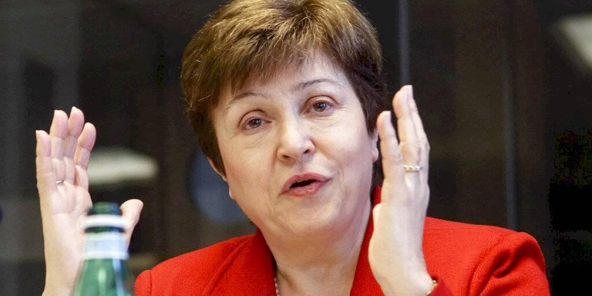 Kristalina Georgieva, la única candidata que busca dirigir el FMI