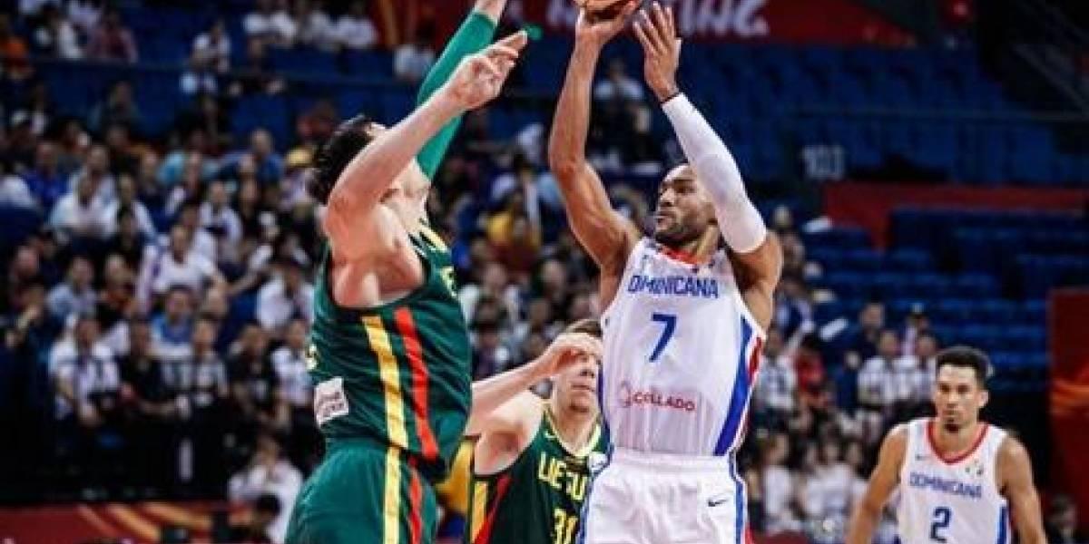 RD se despide del Mundial con derrota ante Lituania