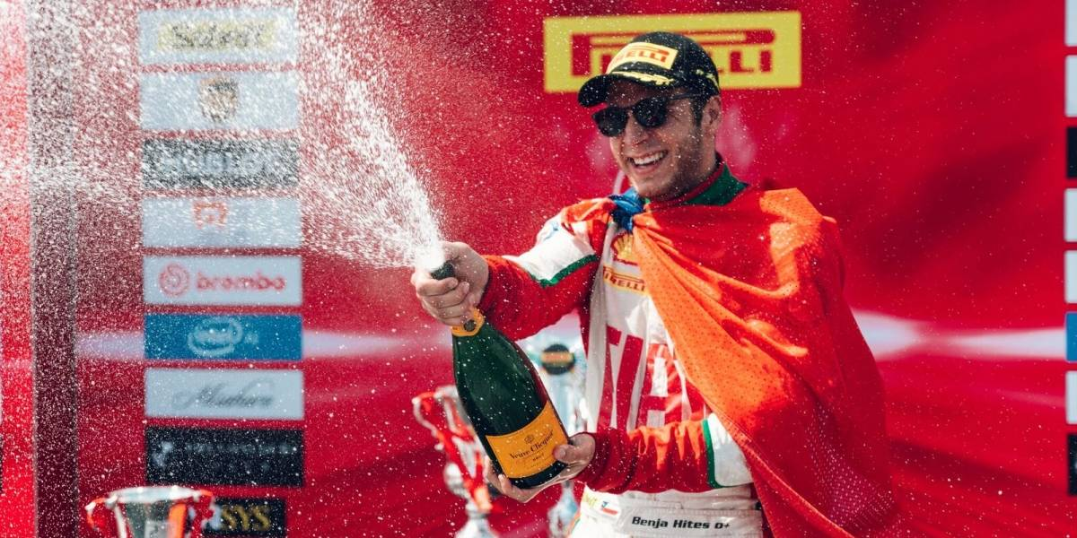 Acumulando triunfos, Hites sueña con el título del Ferrari Challenge norteamericano