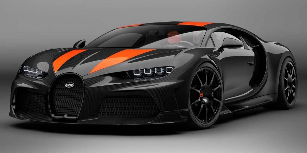 Sólo habrá 30 Bugatti Chiron Super Sport, a 3.5 millones de euros