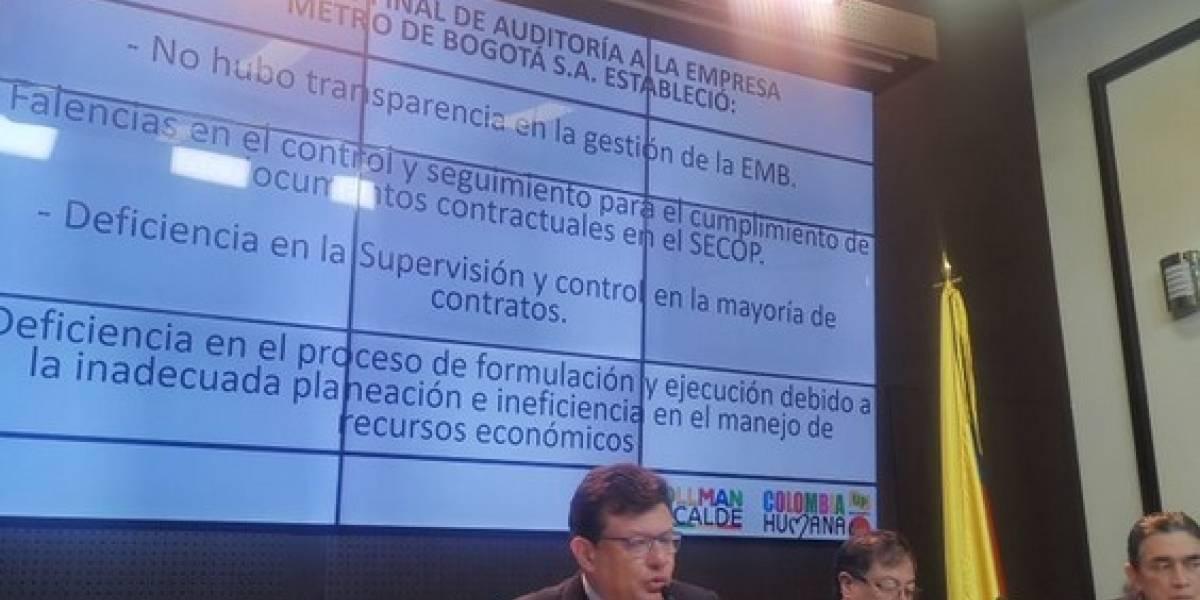 Hollman Morris revela graves irregularidades en la empresa Metro de Bogotá