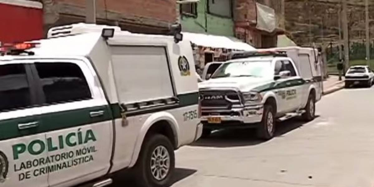 Cuerpo de una mujer fue hallado en una zona verde de Bogotá