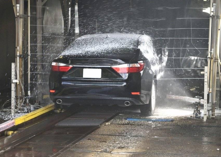 Lavar auto.