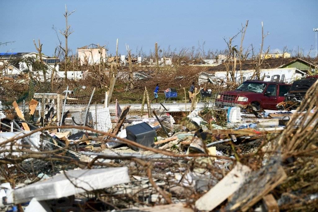 Daños en Bahamas por paso del huracán Dorian
