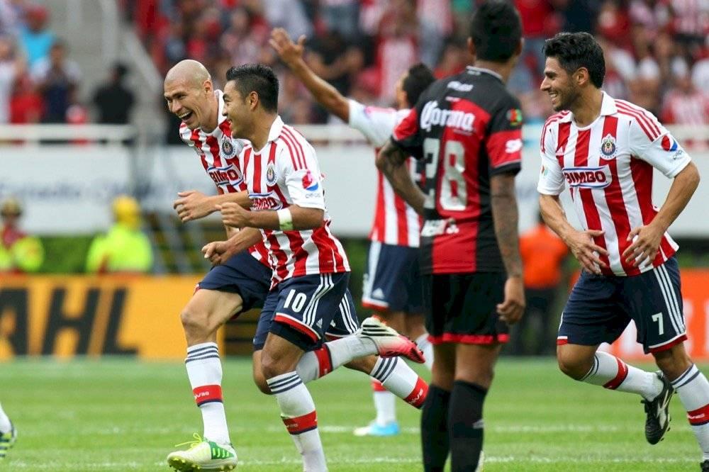 Torneo Apertura 2012 / Jornada 15 / Chivas 2-0 Atlas | MEXSPORT