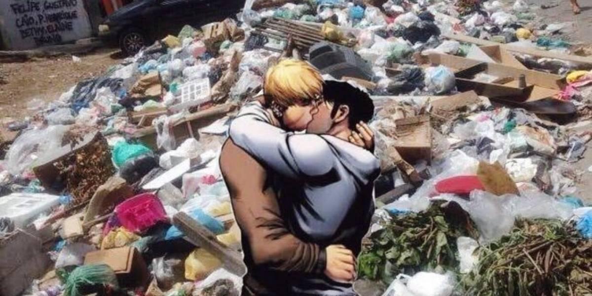 #CorreAquiCrivella: Campanha usa beijo gay para apontar problemas reais no Rio de Janeiro