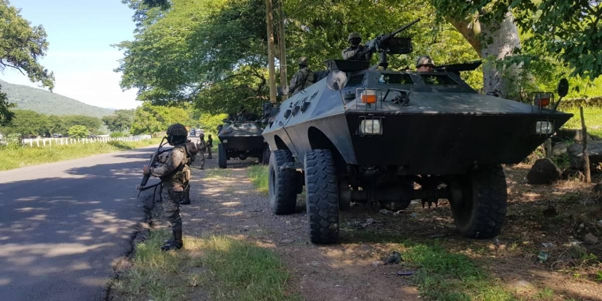 Despliegan a elementos del Ejército en los municipios en que se rige el estado de Sitio