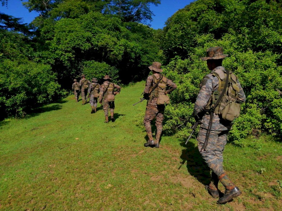 Despliegan a elementos del Ejército en los municipios en que se rige el estado de Sitio. Foto: Cortesía
