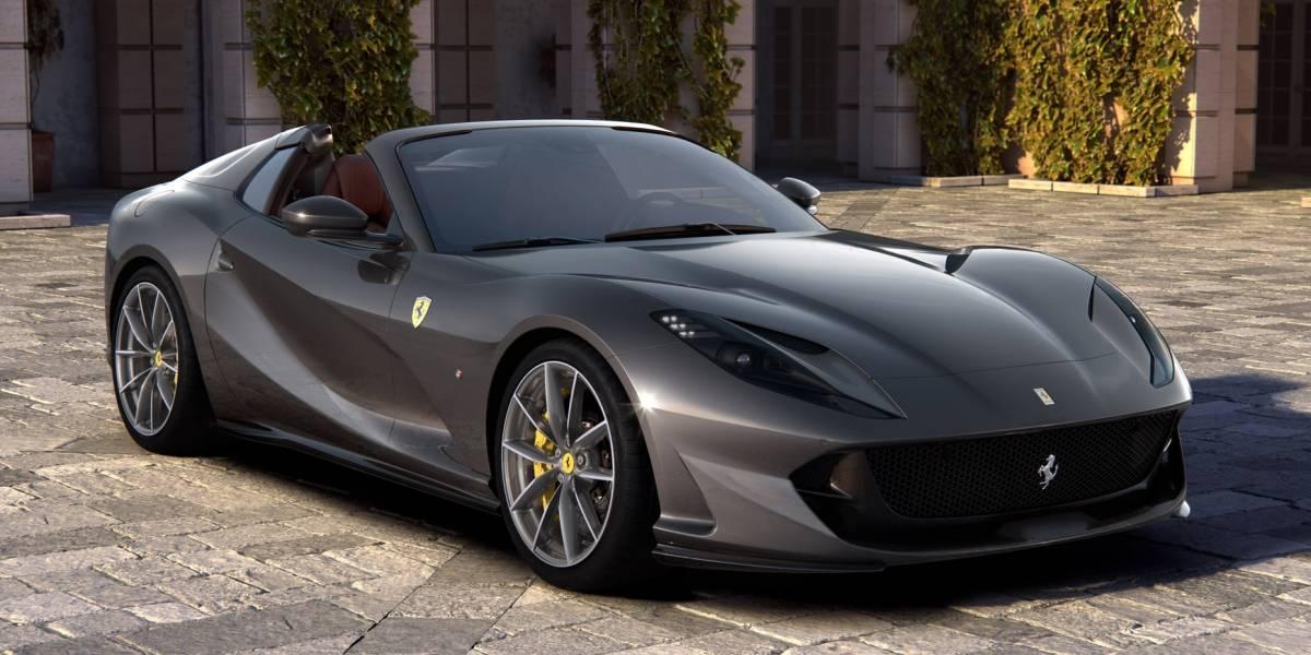 Ferrari 812 GTS, el convertible más potente de la marca italiana