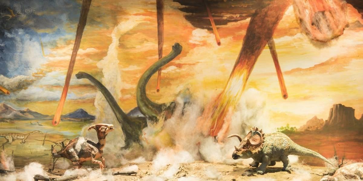 Confirman cómo se extinguieron los dinosaurios: Un asteroide golpeó con la fuerza de 10 mil millones de bombas atómicas