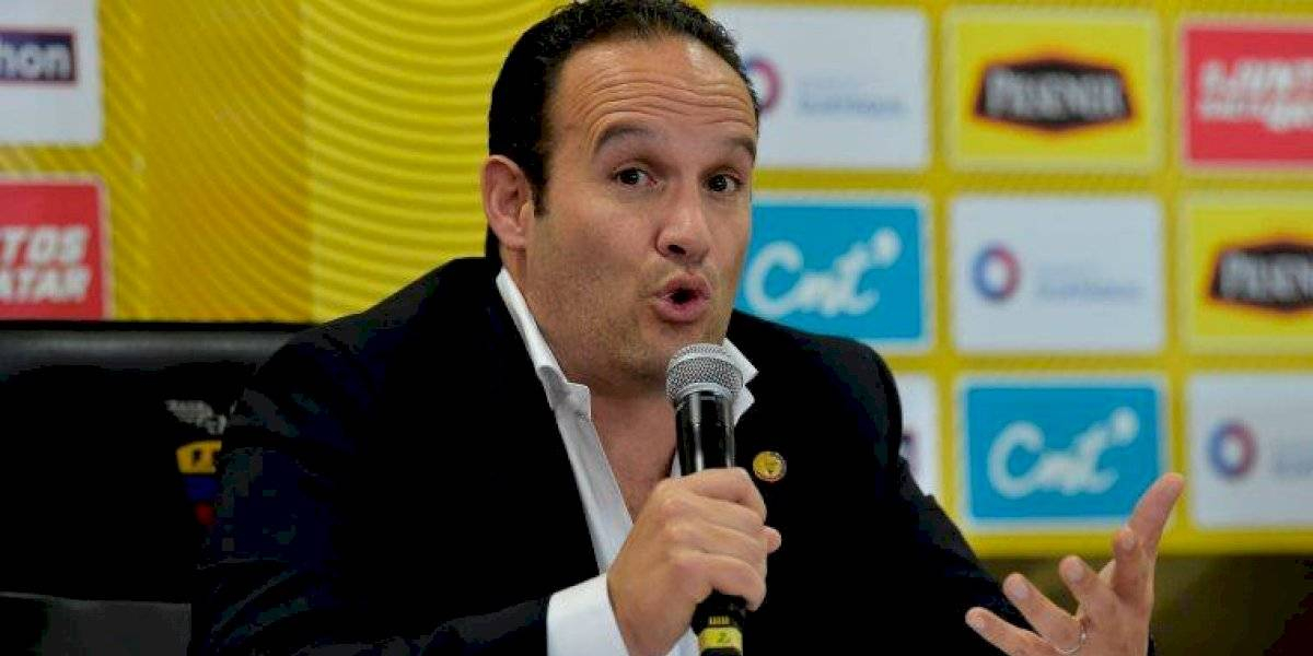 Francisco Egas confirmó que la 'Tri' tiene nuevo DT