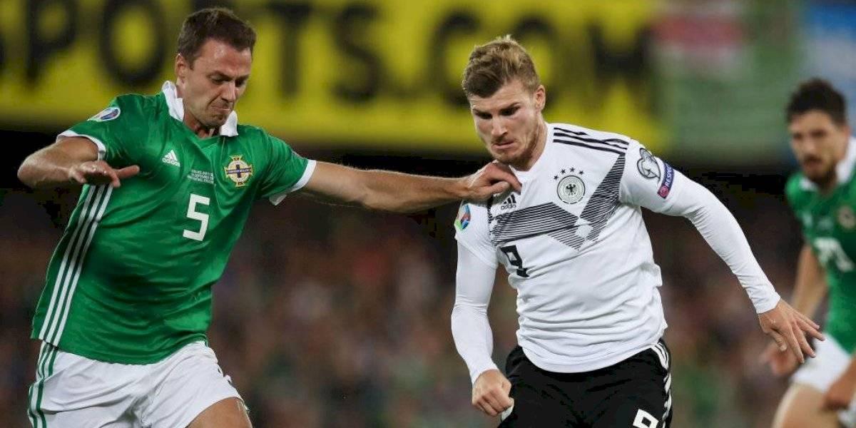 Alemania ganó, mientras que los favoritos Bélgica y Holanda golearon por las clasificatorias para la Eurocopa 2020