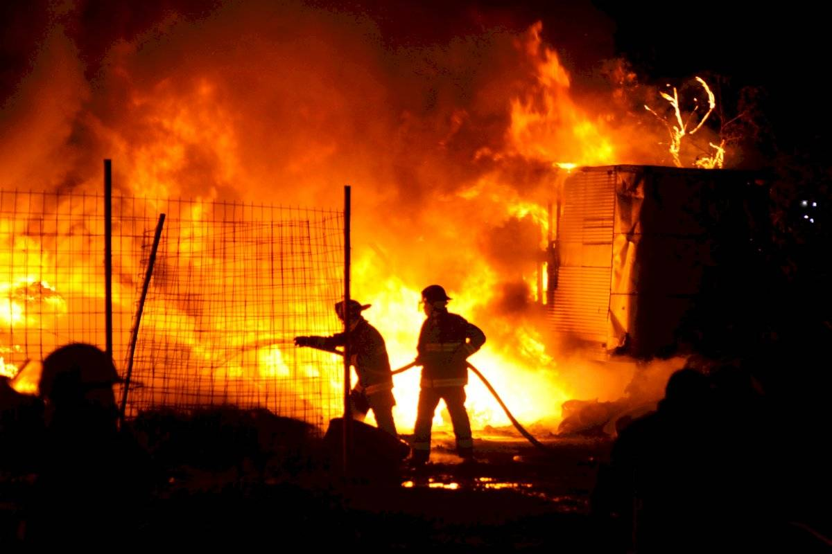 Incendio Tultitlán