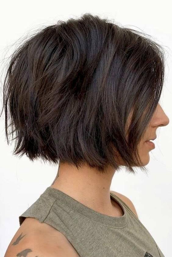 cortes de cabello al hombro para mujer