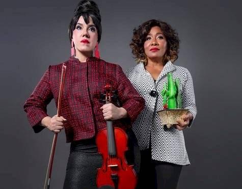 María Castillo y Ziomara Rodríguez