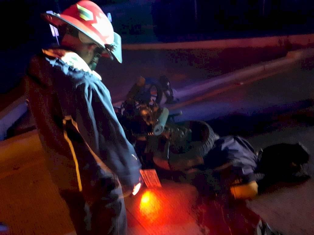 Accidentes en motocicleta en la ruta a Interamericana deja dos muertos y dos heridos