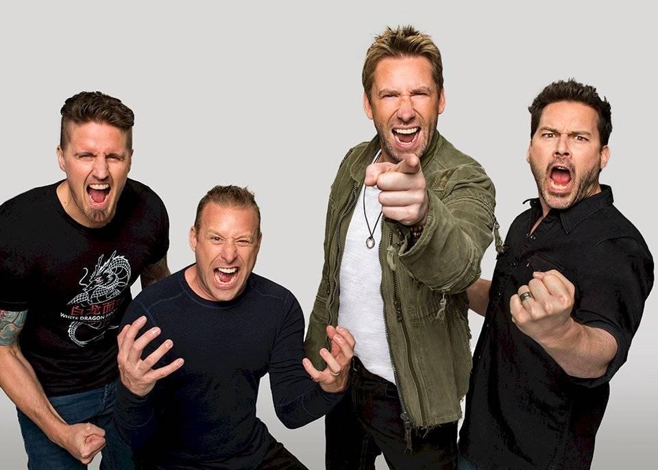 3 de outubro: Nickelback   Divulgação