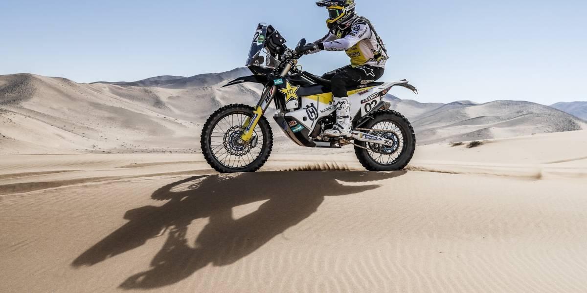 Quintanilla luce recuperado: vuelve tras ocho meses ganando el Atacama Rally