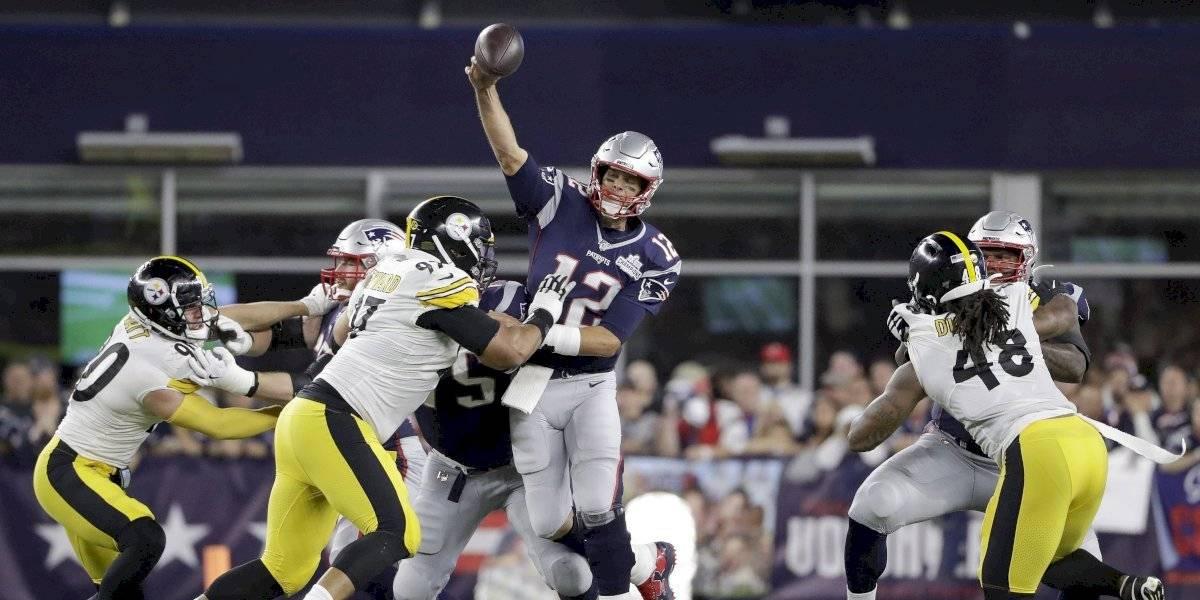 Los Patriots inician la temporada con aplastante triunfo sobre los Steelers