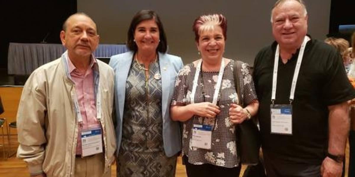 Biblioteca Nacional Pedro Henríquez Ureña participó en evento internacional en Grecia