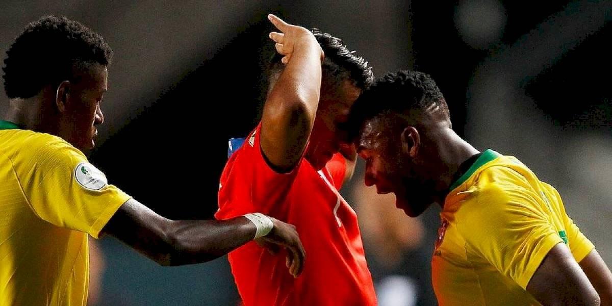 Video: Chile y Brasil protagonizaron una fuerte pelea en amistoso Sub 23