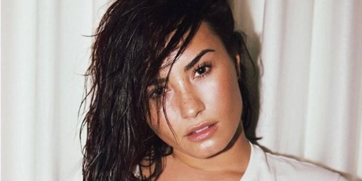 Demi Lovato publicó una foto en bikini sin Photoshop y con una emotiva reflexión