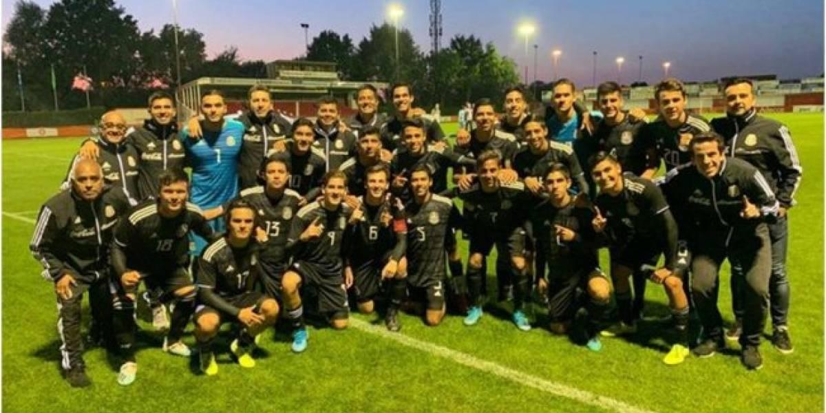Selección Mexicana Sub-17 se corona en Holanda