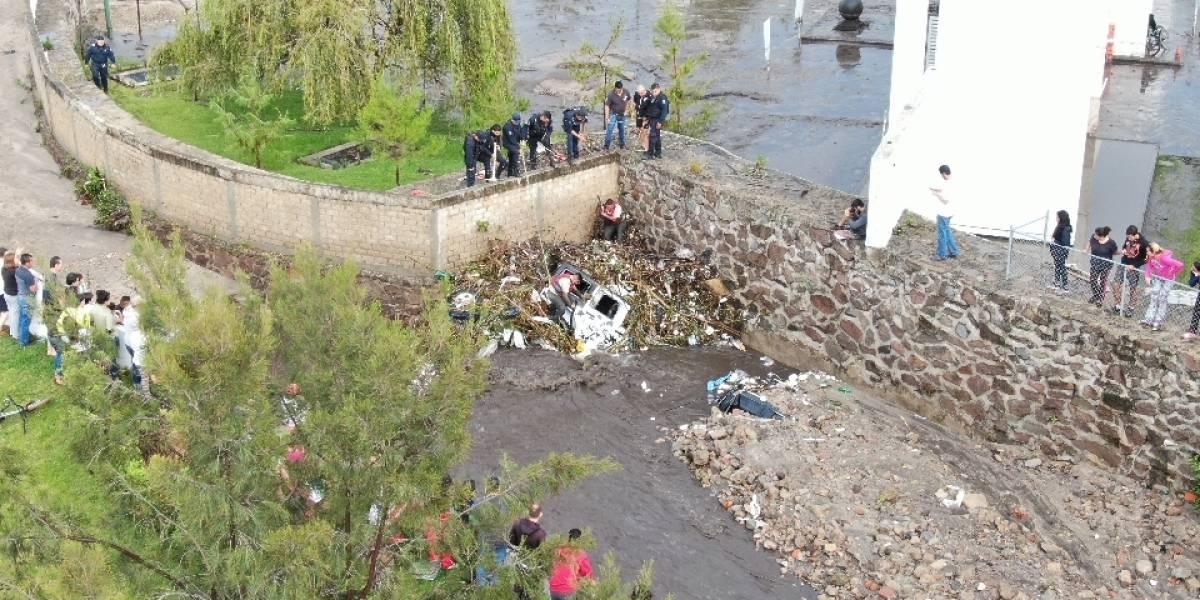 Encuentra cadáver de otra persona arrastrada por la corriente en Tlajomulco