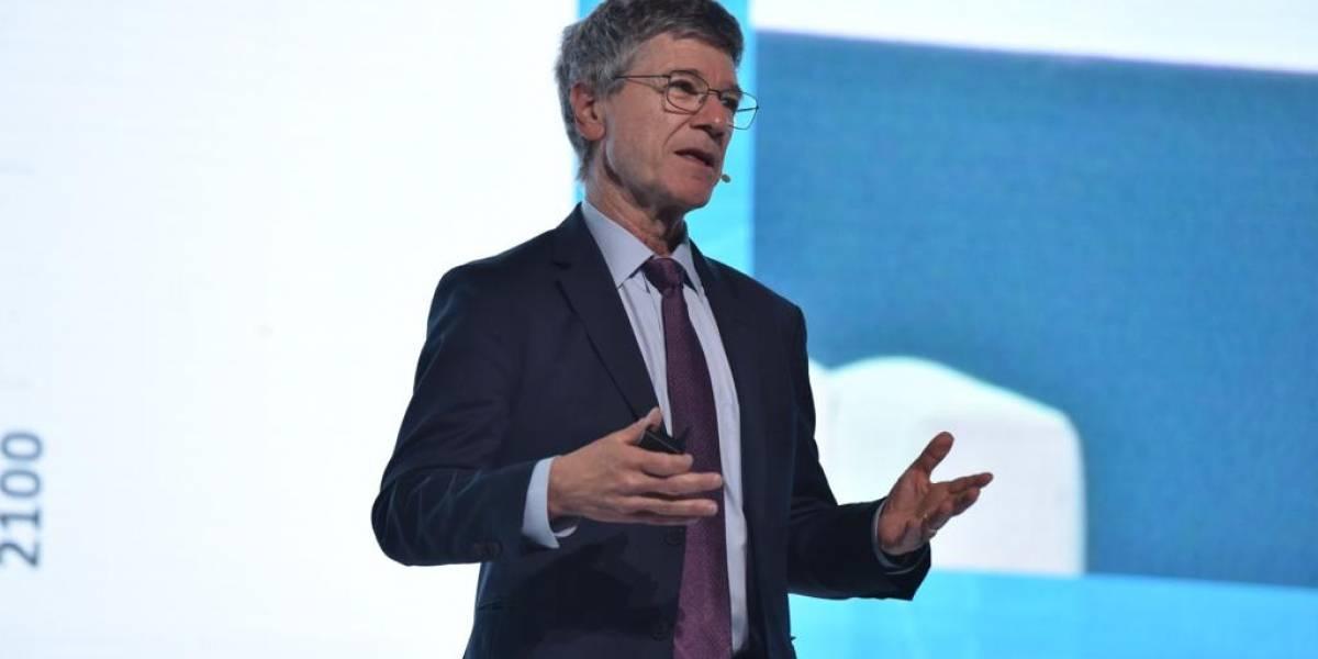 """Jeffrey Sachs: """"el transporte debería ser accesible y sin grandes congestiones"""""""