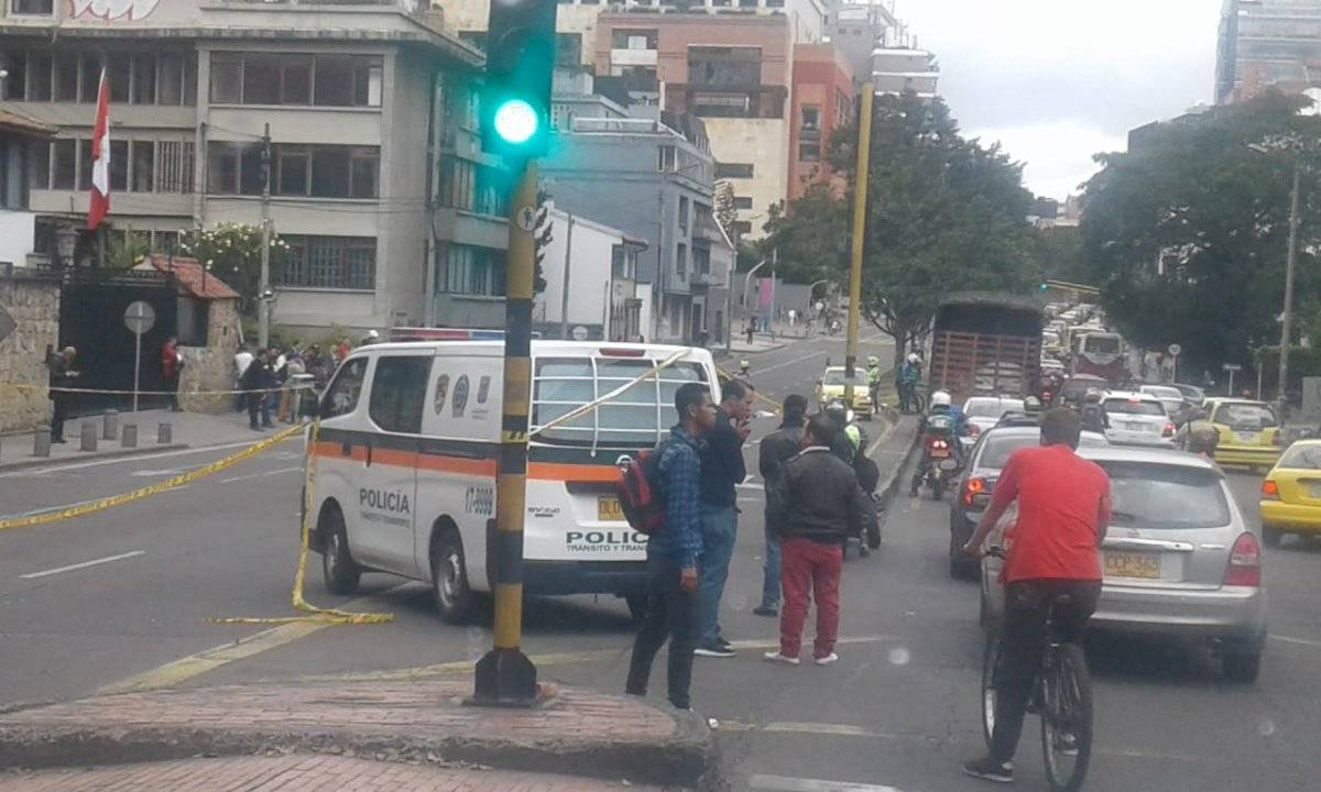 Accidente en la Carrera Séptima