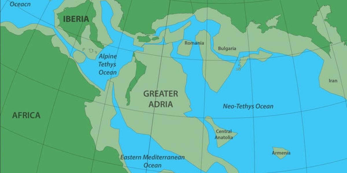 Encuentran los restos de un antiguo continente que está enterrado debajo de Europa