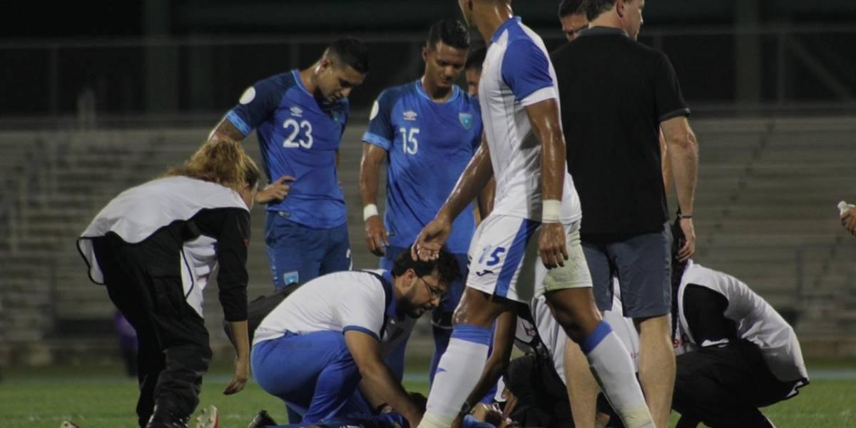 Guatemala sufre la baja de Allen Yanes por lesión