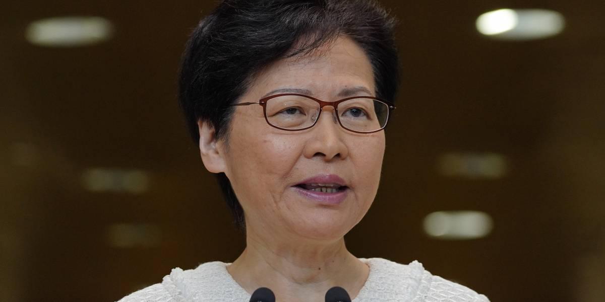 Líder de Hong Kong vuelve a ofrecer diálogo a manifestantes