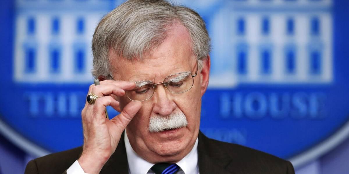 Trump destituye al asesor de seguridad nacional John Bolton