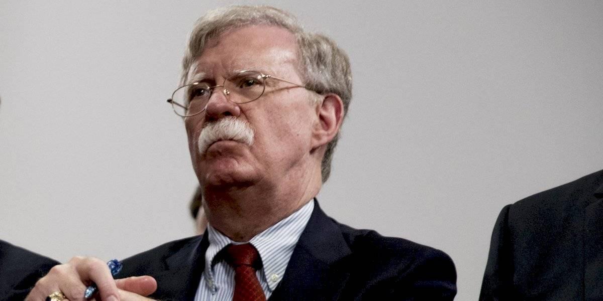 Trump echó al jefe de seguridad nacional John Bolton