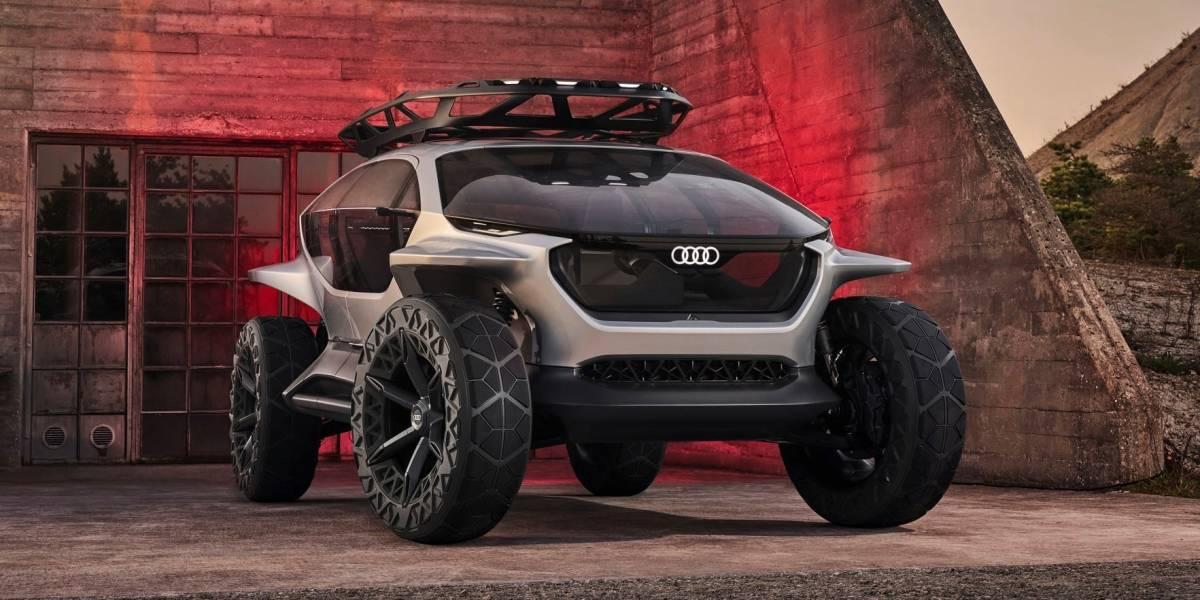 Audi AI: Trail Quattro, el off road del futuro
