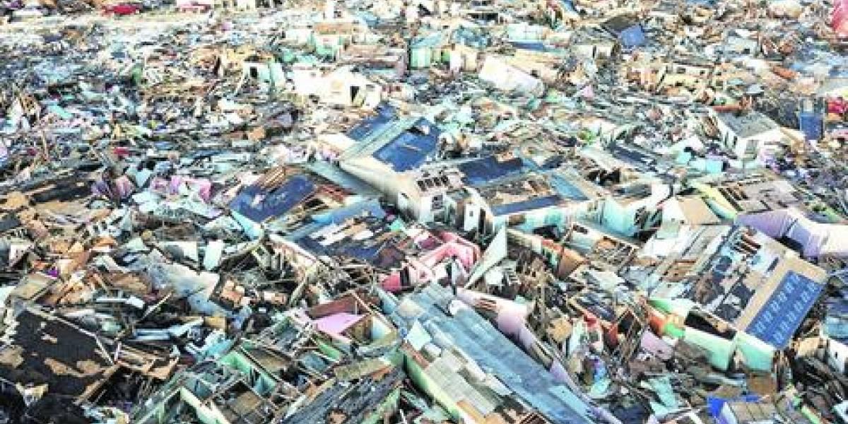 Uno de cada cinco habitantes de Bahamas perdió su hogar por el huracán Dorian
