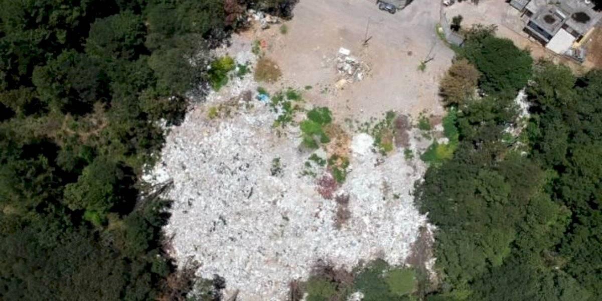 Piden clausurar tiradero de cascajo que afecta bosque de Huixquilucan